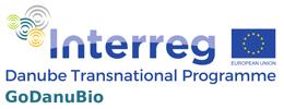 Logo Interreg Danube Transnational Programme  - GoDanuBio